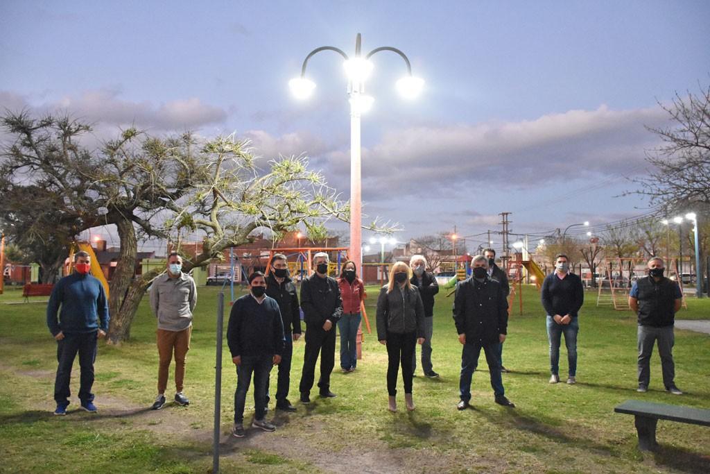 Chivilcoy: Se presentó la puesta en valor del Parque Infantil