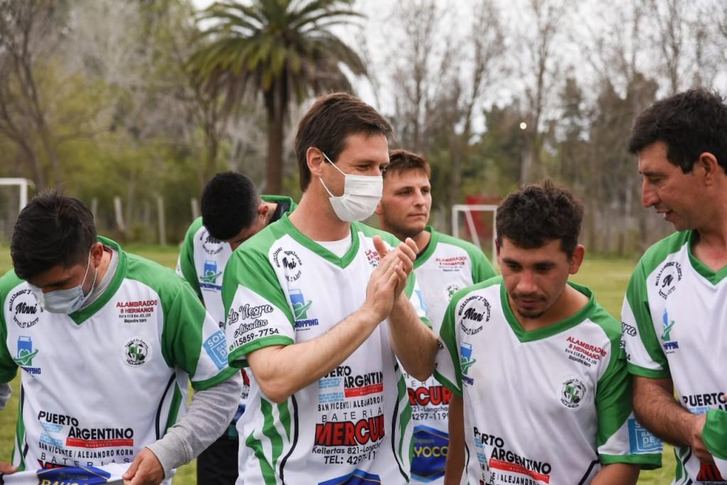 San Vicente: Inauguraron las obras en Empalme F.C