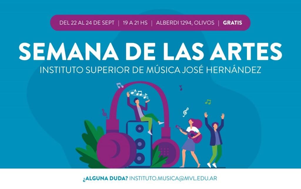 Vicente López: Llega al distrito la Semana de las Artes