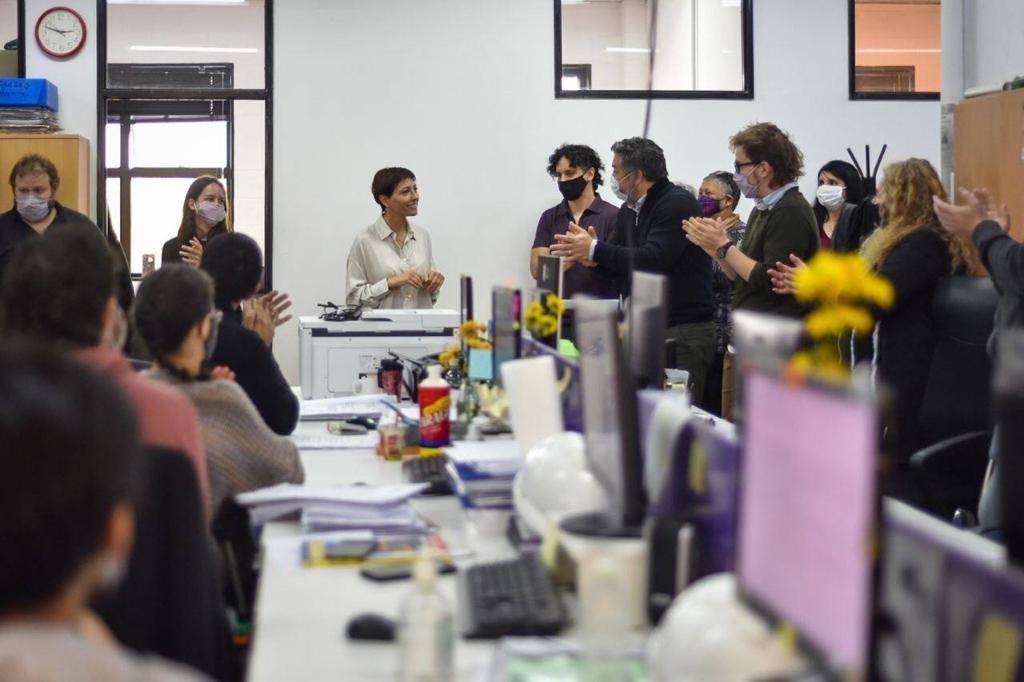 Quilmes: La Intendenta Mendoza anunció un aumento del 25% para trabajadores municipales