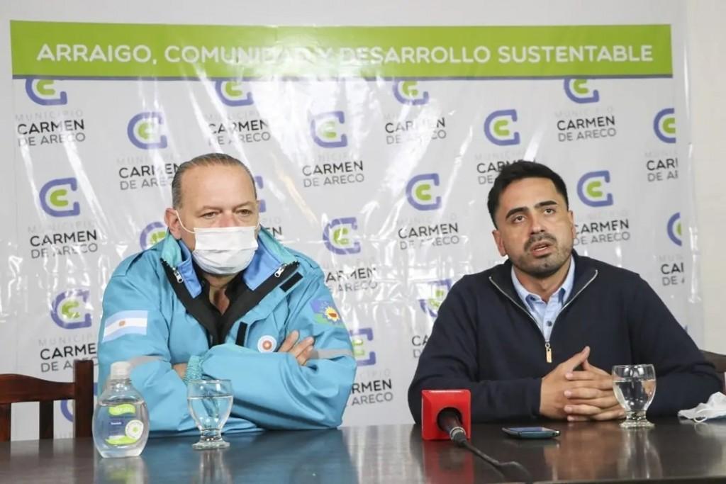 C. de Areco: El Intendente Villagrán recibió al Ministro de Seguridad, Sergio Berni con quien recorrieron el distrito