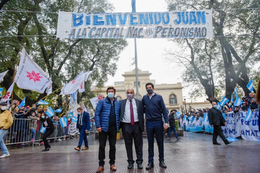 """Fernando Espinoza: """"Somos el proyecto de una Argentina para todos y no para unos pocos"""""""
