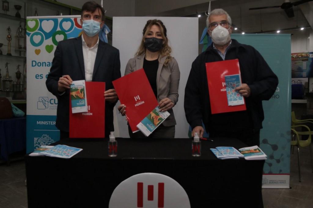 Morón: El Municipio firmó un convenio para promover la donación de sangre y órganos