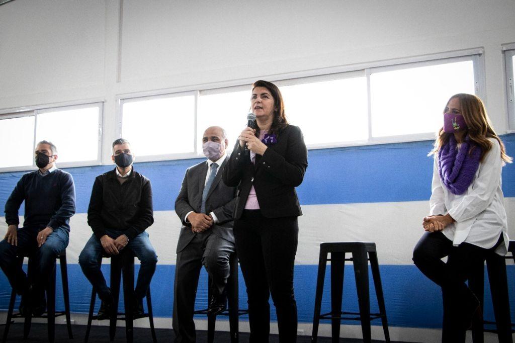 Moreno: Mariel, Manzur y Zabaleta presentaron un programa de mejoramientos de viviendas populares