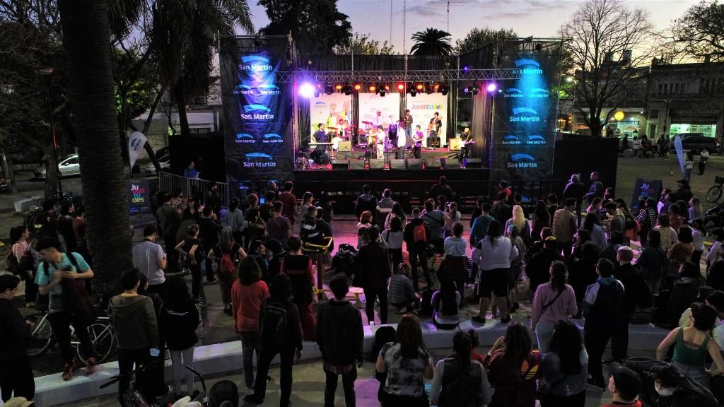 San Martín: El Municipio celebró el Mes de las Juventudes con más de 40 actividades gratuitas