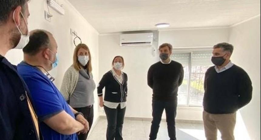 Luján: El Intendente supervisó las obras de ampliación y mejoramiento del Hospital