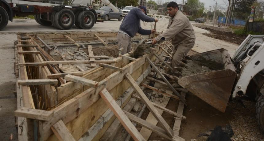 Campana: Continúan las obras en la nueva Costanera