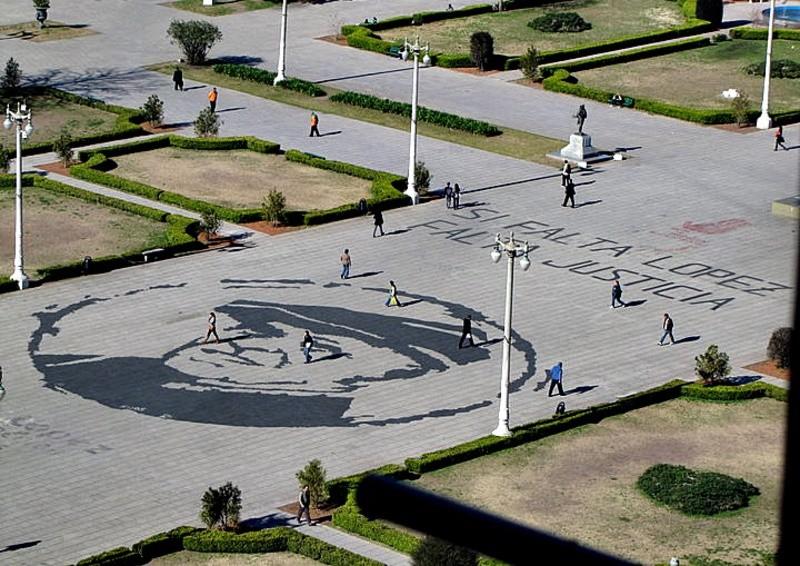 La Plata: Pedido de informes para saber el motivo de quitar los murales de López y las Malvinas