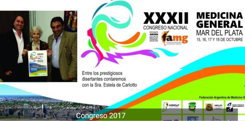 Mar del Plata: Se realiza el XXXII° Congreso Nacional de Medicina General