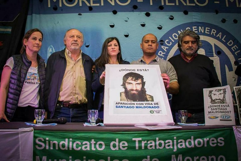 Moreno: Yasky, Vallejos y Correa encabezaron el Encuentro de Trabajadores