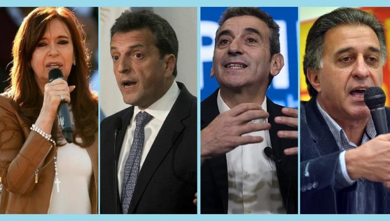 Elecciones: Donde cierran sus campañas CFK, Massa, Randazzo y Pitrola