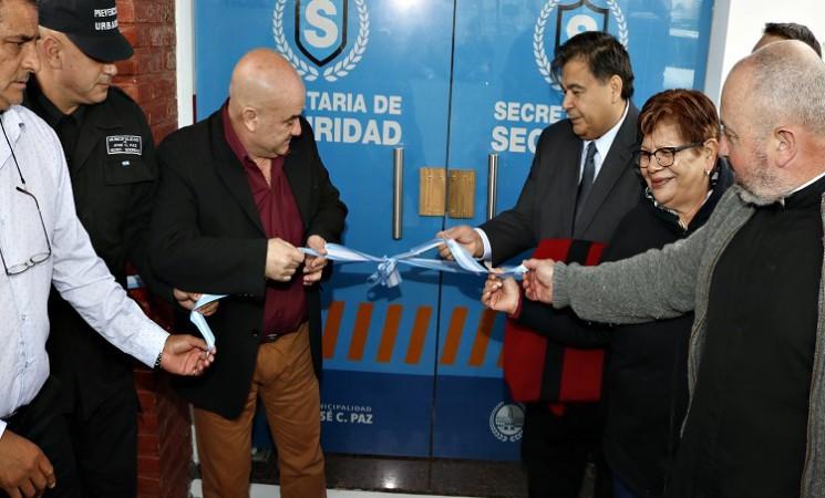 José C. Paz: Ishii dejó inaugurado el Centro de Operaciones Municipal (COM)