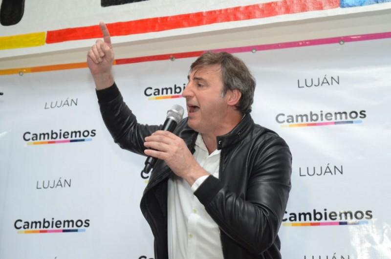 Luján: Cambiemos aumentó la diferencia de las PASO ante Unidad Ciudadana