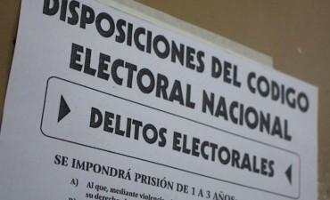 Comenzó la veda electoral con prohibiciones que rigen hasta el final del comicio