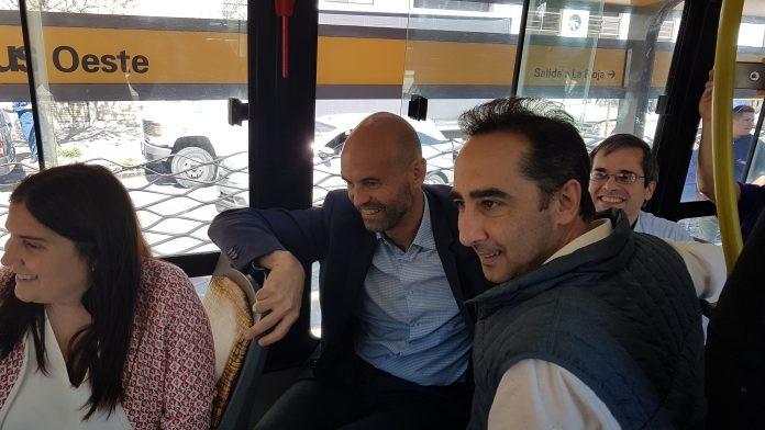 Morón: Tagliaferro inaugura el Metrobús con estricto control de invitados