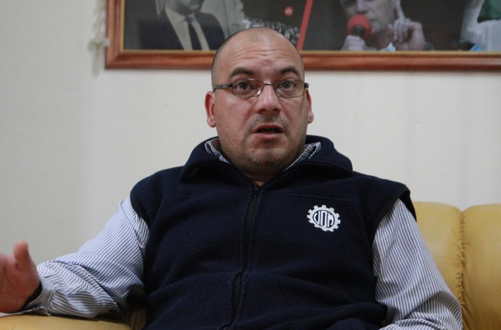 """Sergio Souto (UOM): """"En 2019 hay que elegir entre el FMI o un gobierno que defienda la industria nacional"""""""