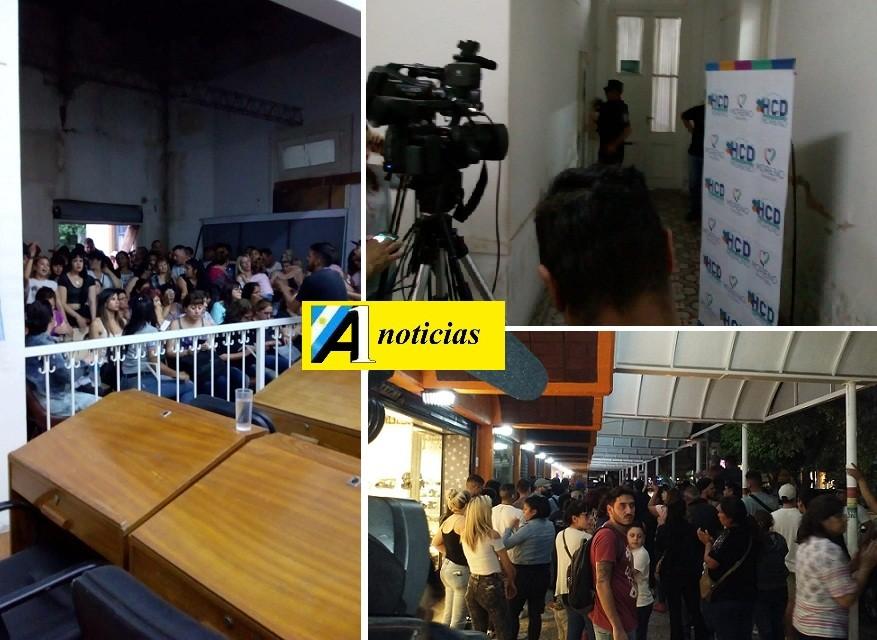 Crisis política e institucional en el HCD de Moreno