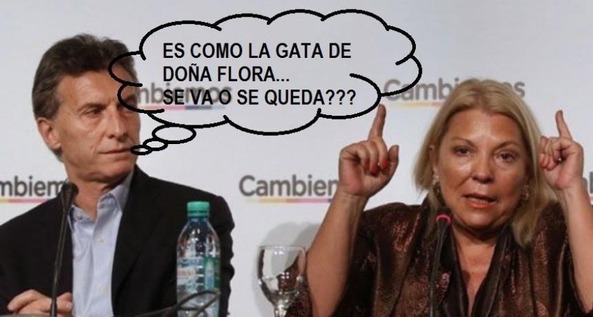 Carrió amenazó a Macri, se va de Cambiemos si el gobierno no echa a Garavano