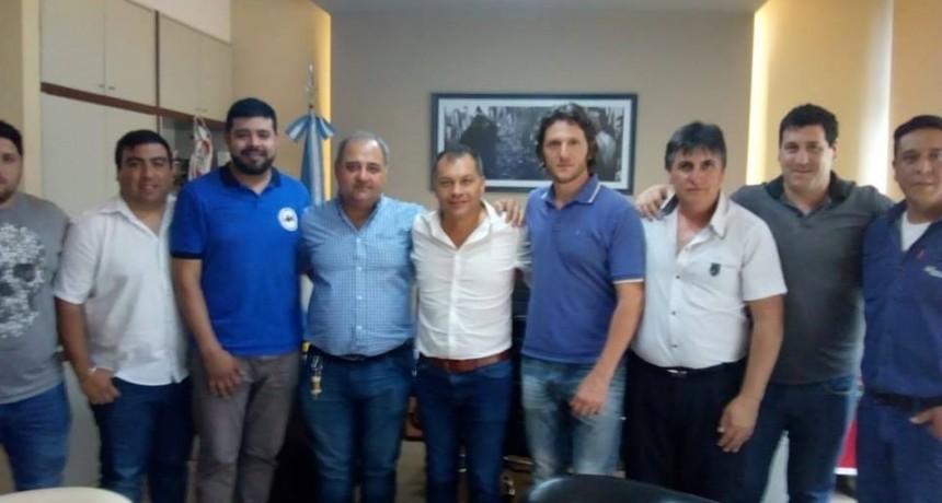 Moreno: Festa recibió a dirigentes de gremios ferroviarios