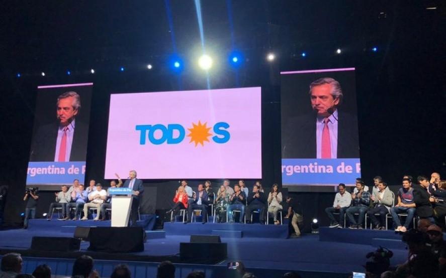 """Alberto: """"Llenemos las urnas de votos, así van a entender lo que Argentina quiere. Van a entender cuando cuenten los votos"""""""