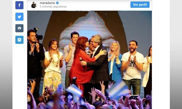 """DIOS habló y dijo: """"Bienvenidos, los estábamos esperando. VAMOS ARGENTINA!!!"""""""