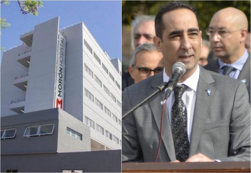 Tagliaferro y la crisis sanitaria del Hospital Municipal de Morón