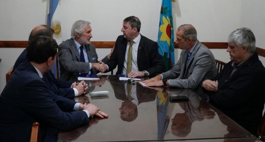 Luján: Reapareció Luciani para firmar convenios con la Suprema Corte de Justicia en materia de seguridad