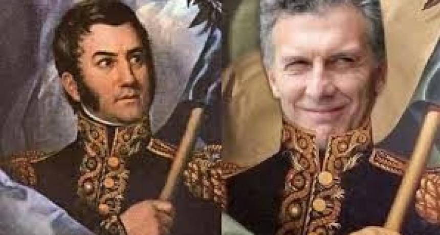 Macri se comparó con San Martín y recibió fuertes críticas por sus dichos sobre el Cruce de los Andes