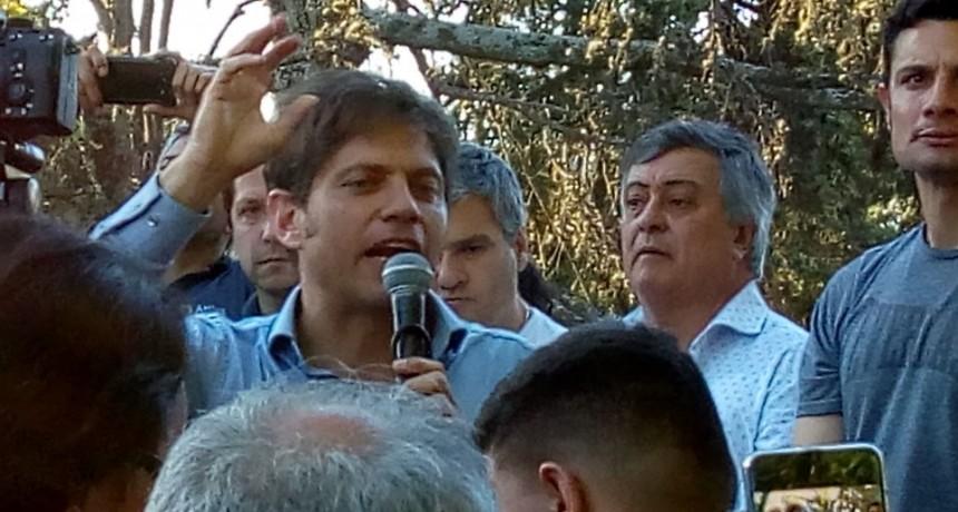 """Gral. Rodríguez: Axel Kicillof aseguró que """"Mauro García será el futuro intendente"""""""