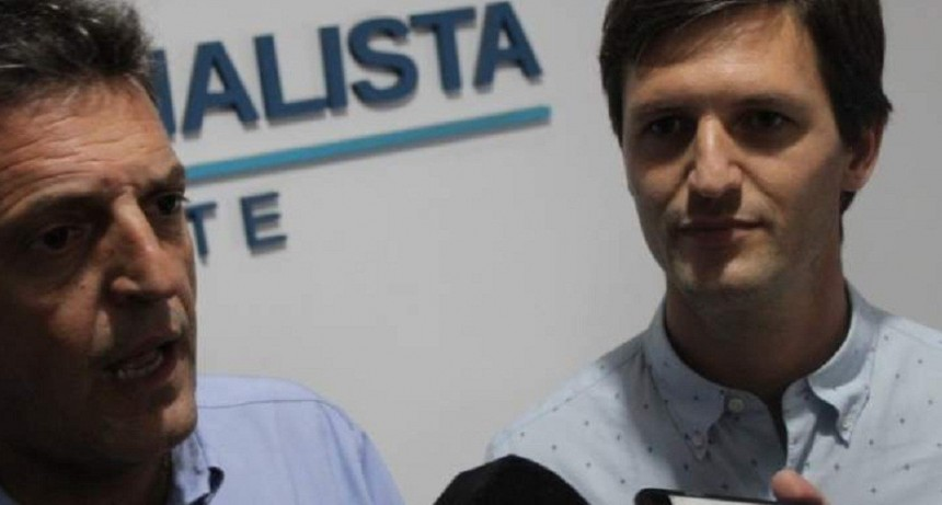 San Vicente: Sergio Massa recorrió dos PyMES del distrito junto a Nicolás Mantegazza