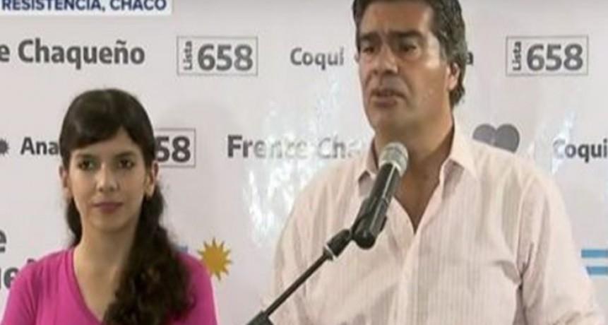 """Chaco: """"Coqui"""" Capitanich triunfó por más de 17 puntos y volvió a la gobernación"""
