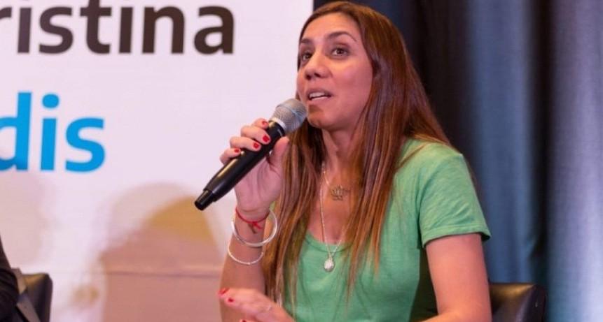 """La candidata a diputada Débora Galán (Todos) aseguró que """"la gente está muy esperanzada"""""""