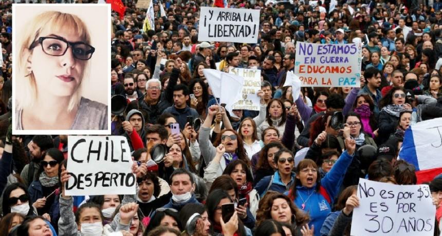 """Alejandra Loucau: """"El principal problema de Chile es que se ocultaba la desigualdad, con muchos pobres y pocos ricos"""""""
