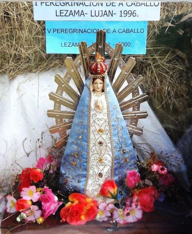 Lezama: La imagen de la Virgen de Luján recorrerá la ciudad