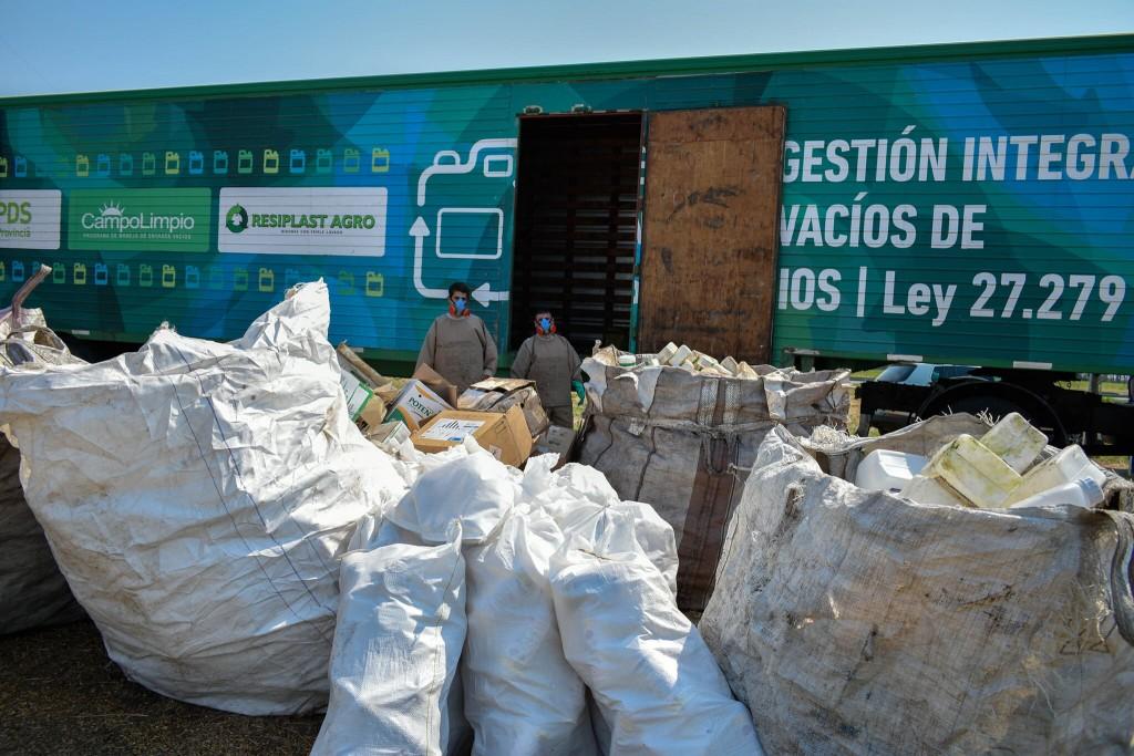 Leandro N. Alem: Traslado de envases de fitosanitarios fuera del distrito