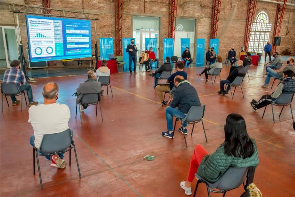 Junín: Nuevo encuentro entre el Municipio y representantes del sector gastronómico
