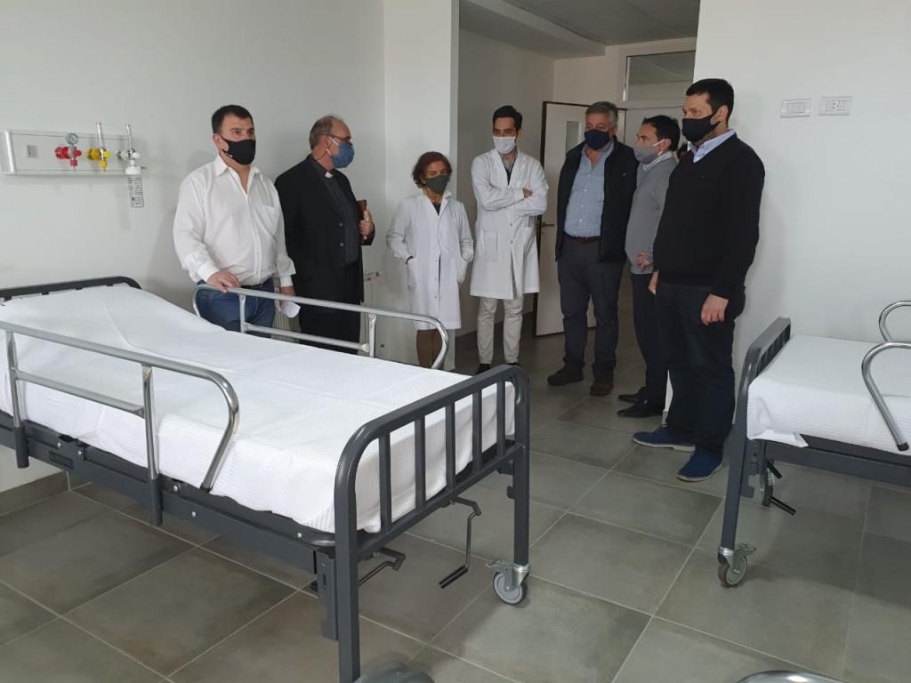 Azul: Puesta en funcionamiento de sala de internación en el Hospital Pintos