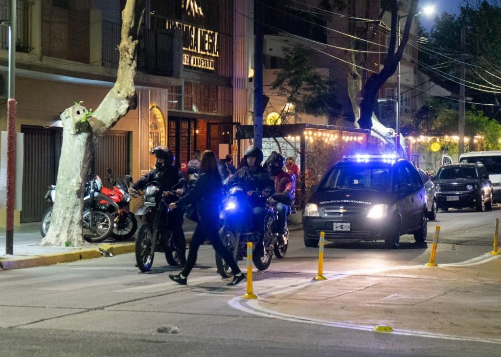 Lanús: Comenzaron los operativos adicionales de seguridad en las zonas gastronómicas