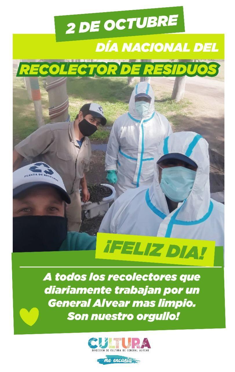 Gral. Alvear: Día del Recolector de Residuos