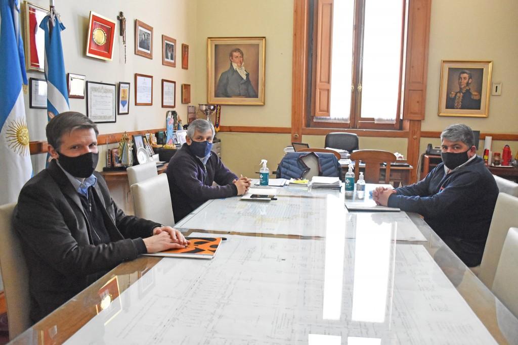 Chivilcoy: El intendente se reunió con el Delegado Regional del Ministerio de Trabajo