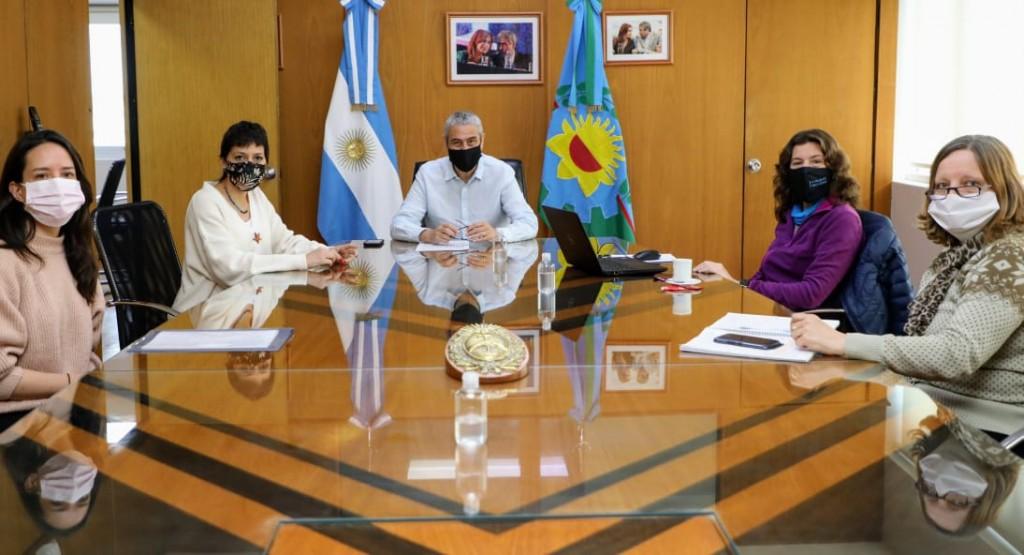 Avellaneda: Ferraresi se reunió con Mayra Mendoza y autoridades de Vialidad Nacional