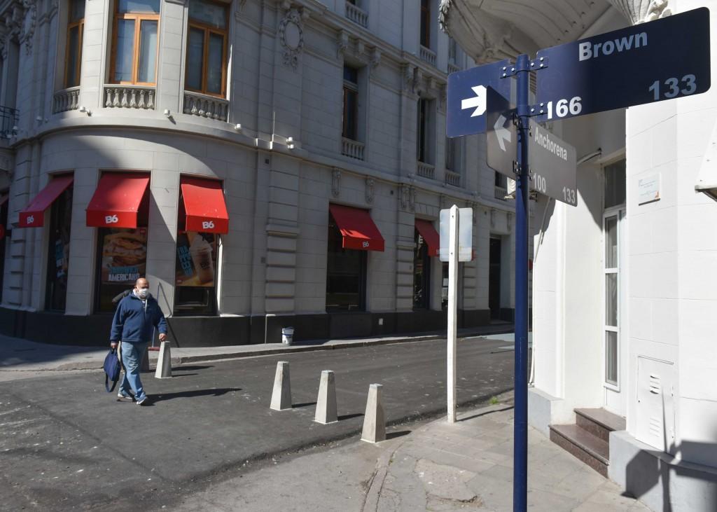 B. Blanca: Peatonalización de calle Anchorena, comienza la puesta en valor de la zona del Mercado Municipal