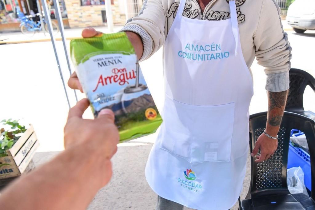 Escobar: El Almacén Comunitario y la Panadería Social vuelven a distintos barrios del distrito