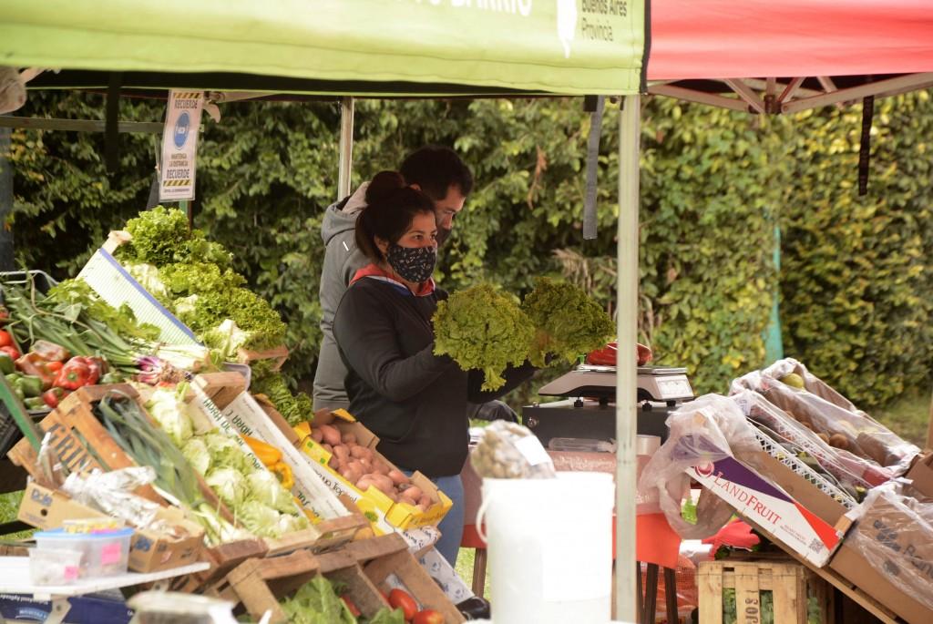 Campana: Este jueves, los puestos de abastecimiento llegan a la plaza del barrio Otamendi