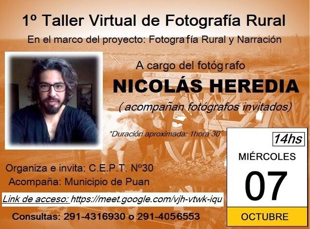 Puan: Capacitación online sobre fotografía