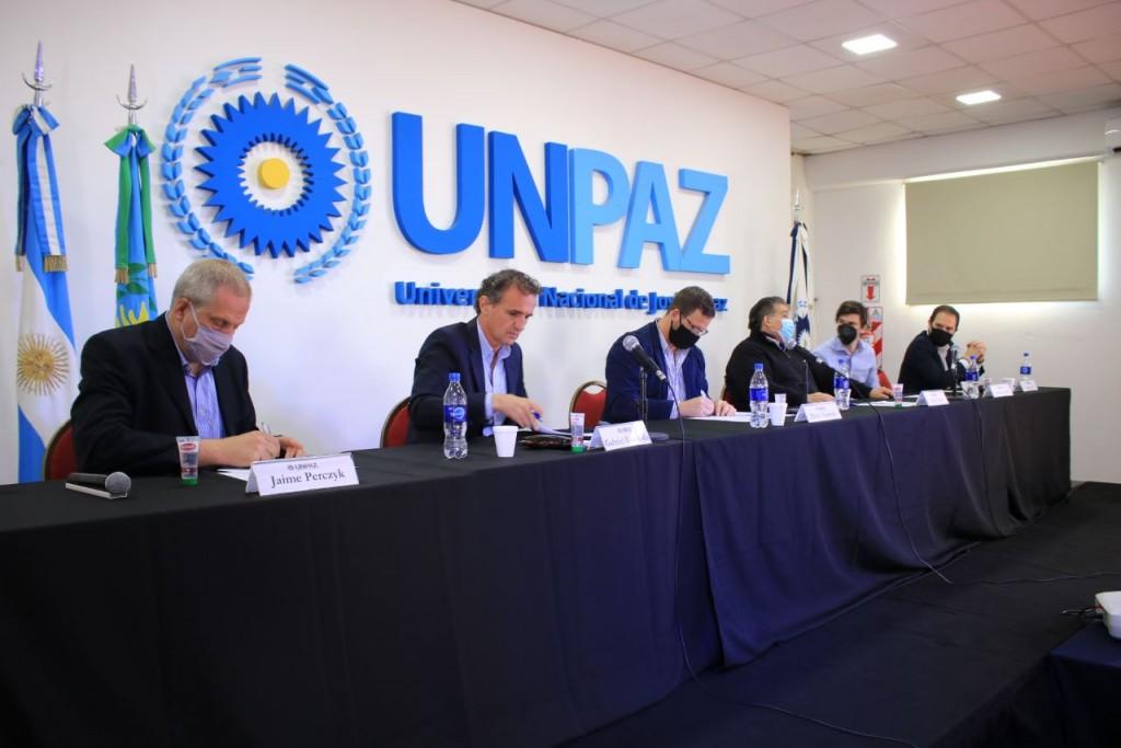 José C. Paz: Katopodis destacó la gestión de Ishii al firmar un convenio con la UNPAZ