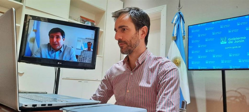Junín: Importante anuncio tras una reunión de Petrecca con el Ministro de Desarrollo Social de la Nación