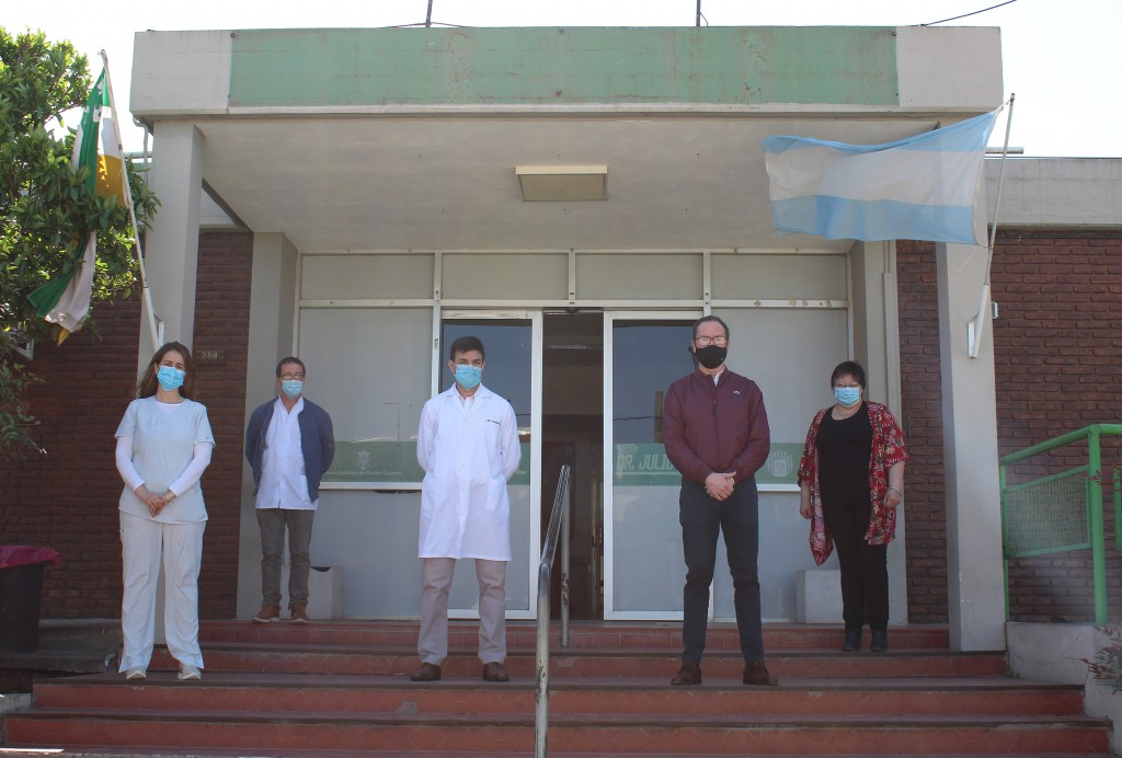 Carlos Casares: Inauguraron el Laboratorio de Bacteriología y Biología Molecular
