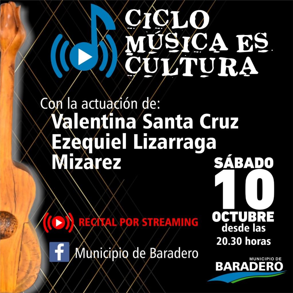 "Baradero: Llega la cuarta noche del ciclo ""Música es Cultura"""