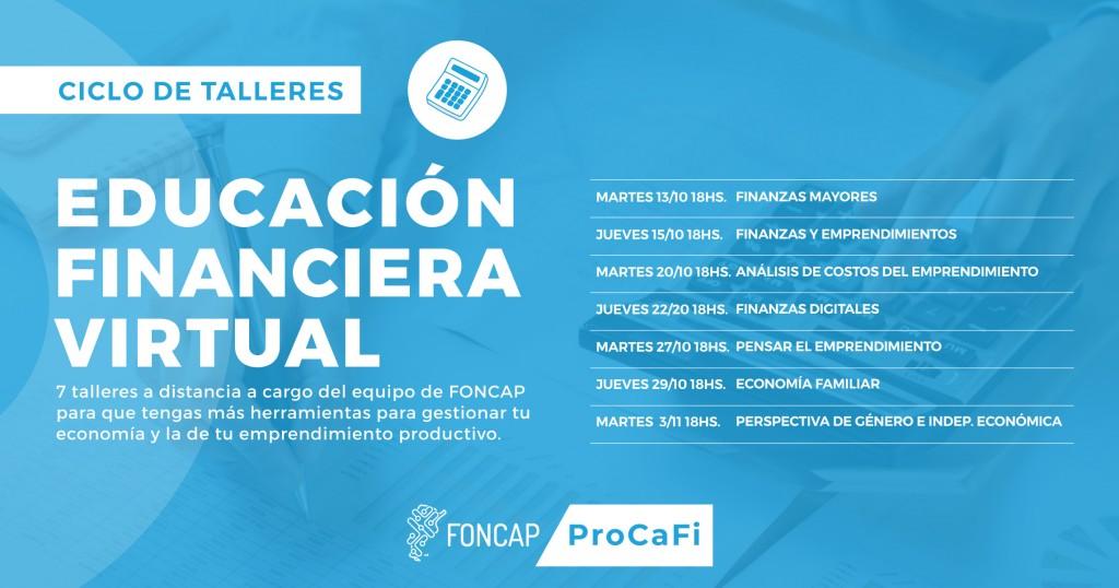 Patagones: Se dictarán capacitaciones virtuales del FONCAP